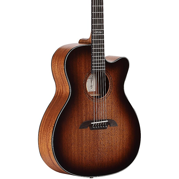 AlvarezAF660CESHB Artist Series OM/Folk Acoustic-Electric  Guitar