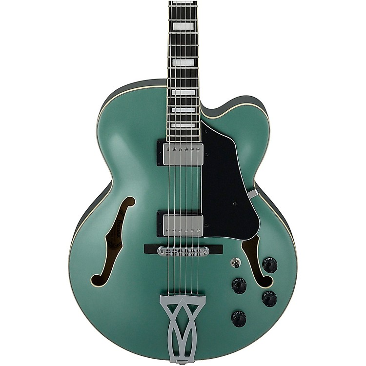Ibanez AF75 Artcore Series Electric Guitar Olive Metallic