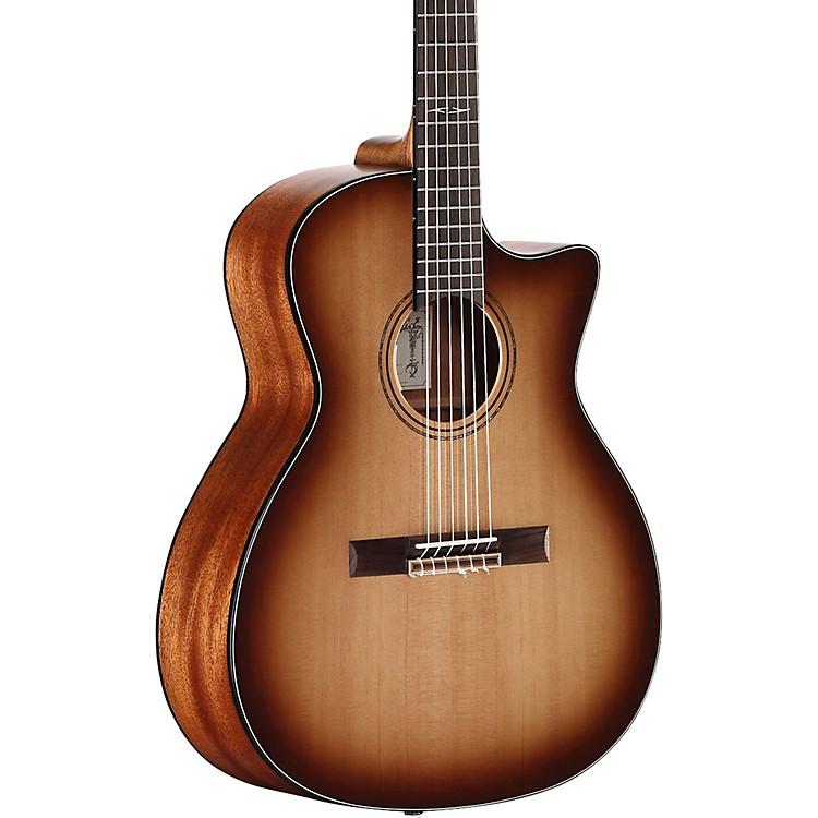 AlvarezAG610CESHB-N Artist Grand Auditorium Nylon String Acoustic-Electric Guitar