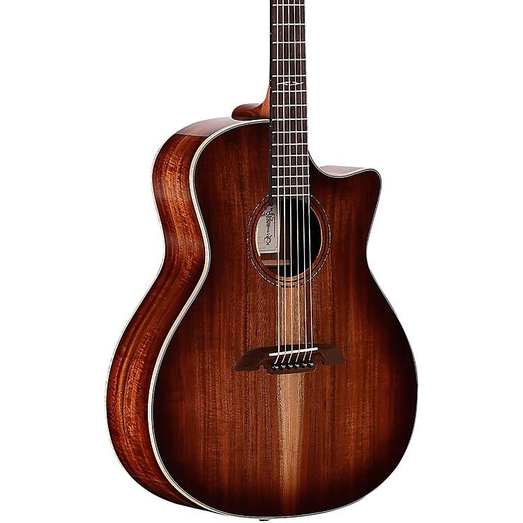 AlvarezAG990CESHB Artist Grand Auditorium Acoustic-Electric Guitar