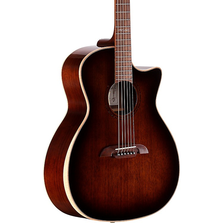 AlvarezAGW770CEAR 6 String Acoustic Electric GuitarShadow Burst