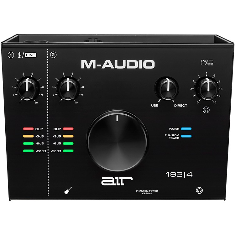 M-Audio AIR 192|4 USB C Audio Interface