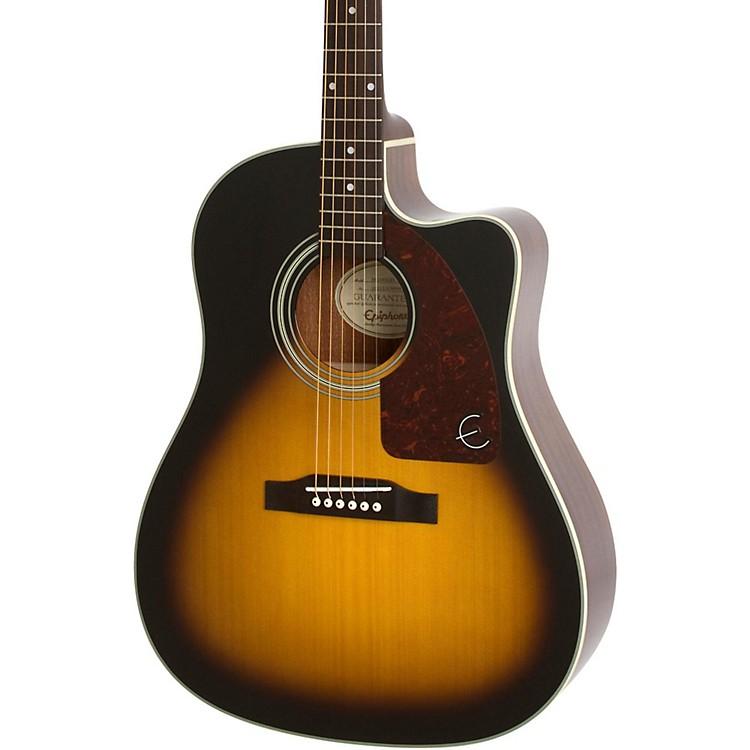 EpiphoneAJ-210CE Outfit Acoustic-Electric GuitarVintage Sunburst