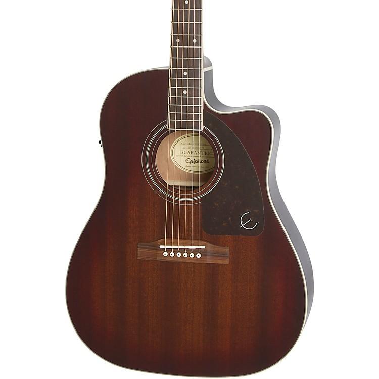EpiphoneAJ-220SCE Acoustic-Electric GuitarMahogany