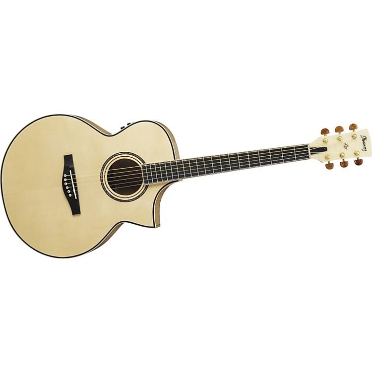 IbanezAJS1180ECENT Artwood Series Jumbo Cutaway Acoustic–Electric Guitar