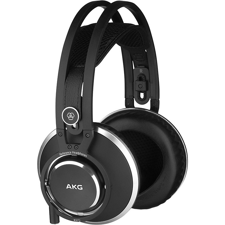 AKG AKG K872 Master Reference Closed-Back Studio Headphones Black