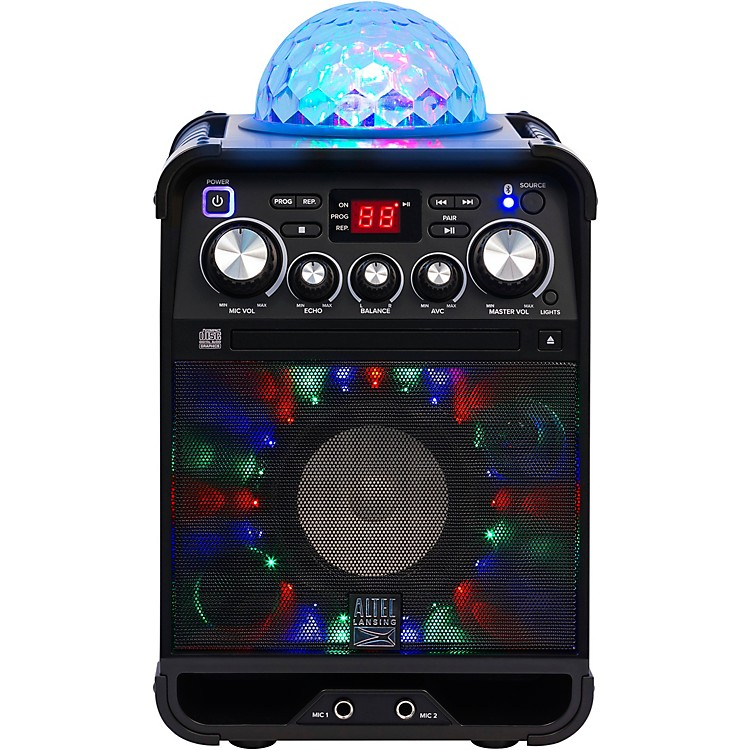 Altec LansingALP-K500 Party Star Karaoke System With Bluetooth and Effect Lights