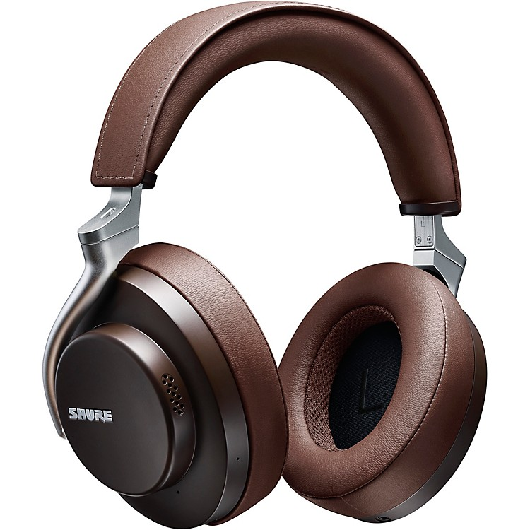 Shure AONIC 50 Wireless Noise-Cancelling Headphones Brown