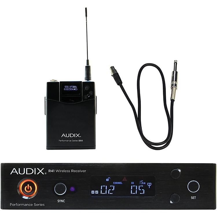 AudixAP41 GUITAR Instrument Wireless System518-554 MHz