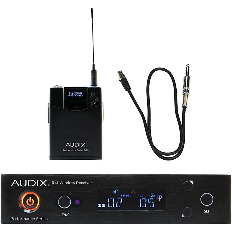 Audix AP41 GUITAR Instrument Wireless System 554-586 MHz