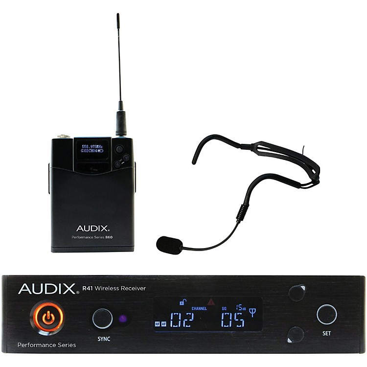 Audix AP41 HT2 Headworn Wireless System 518-554 MHz