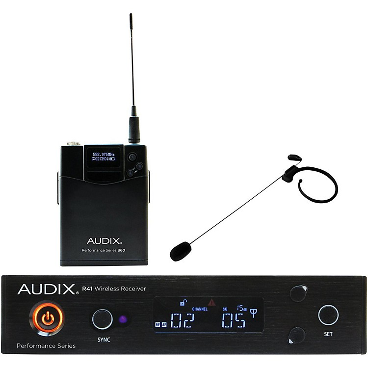 Audix AP41 HT7 Headset Wireless System 554-586 MHz Black