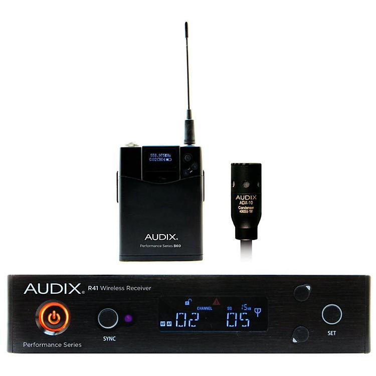 AudixAP41 L10 Lavalier Wireless System554-586 MHz