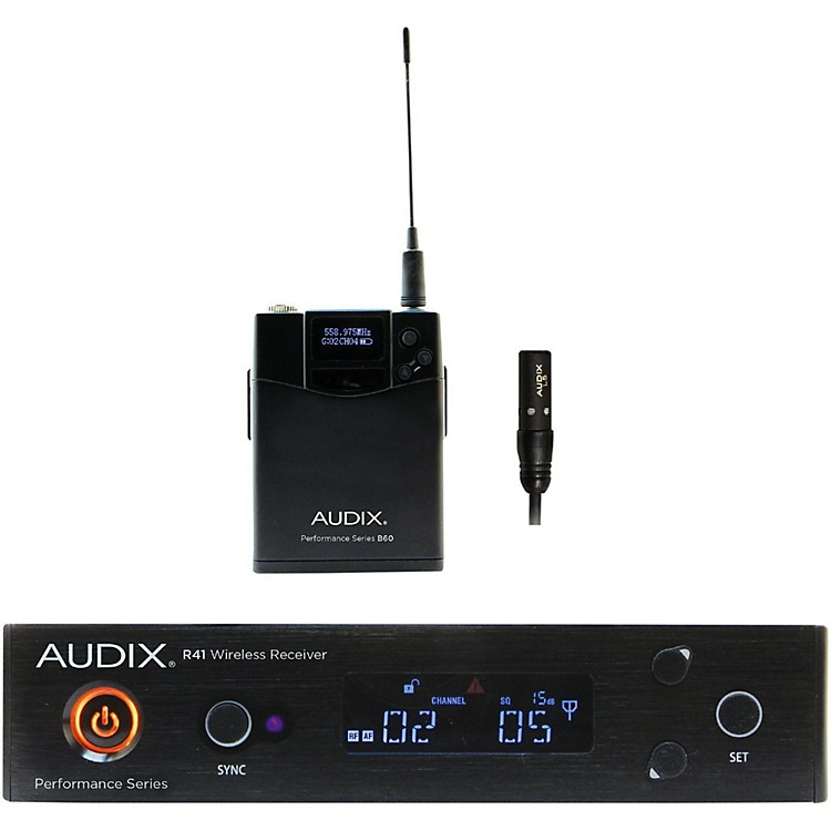 Audix AP41 L5 Lavalier Wireless System 518-554 MHz