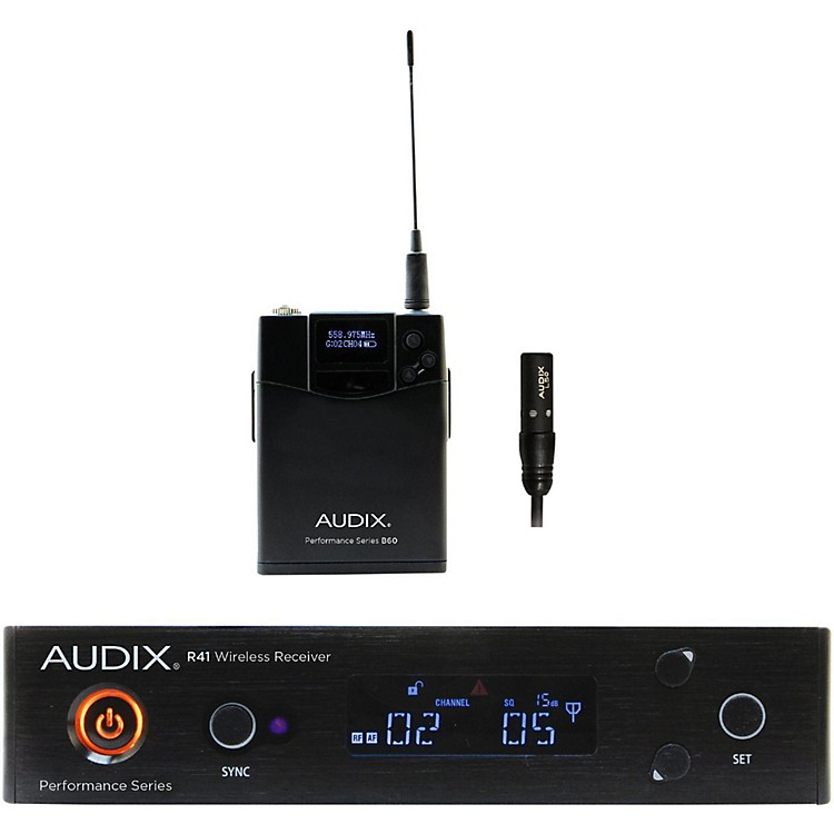 AudixAP41 L5O Lavalier Wireless System554-586 MHz