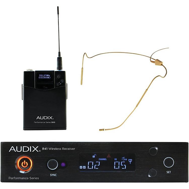 AudixAP41HT5BG Headset Wireless system w/ HT5 Omni Condenser mic - Beige554-586 MHz