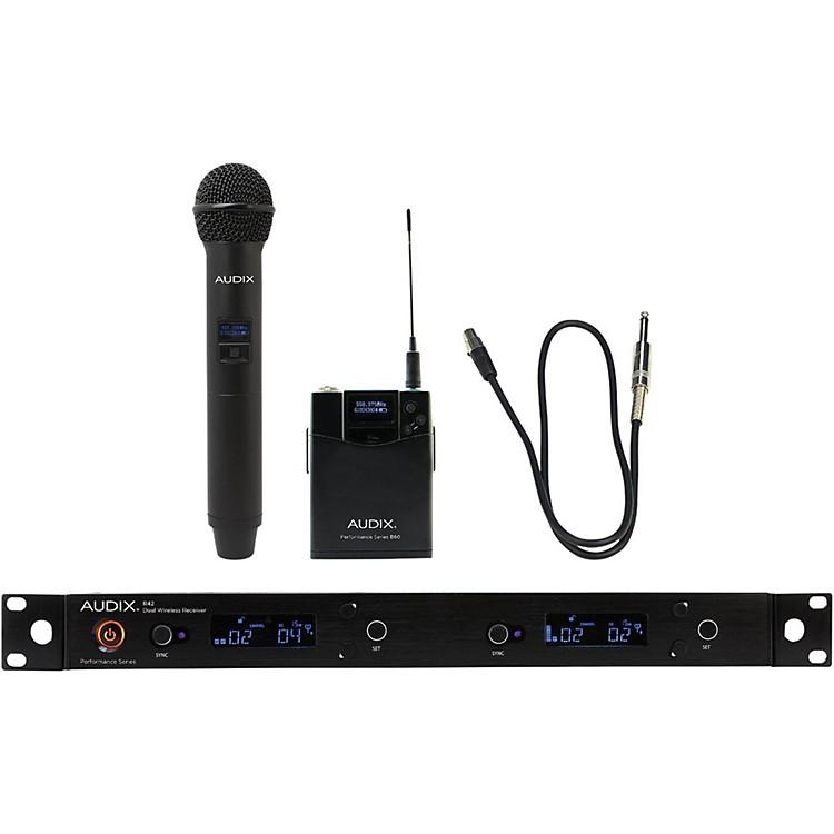 AudixAP42 C2GTR Handheld and Instrument Wireless System554-586 MHz