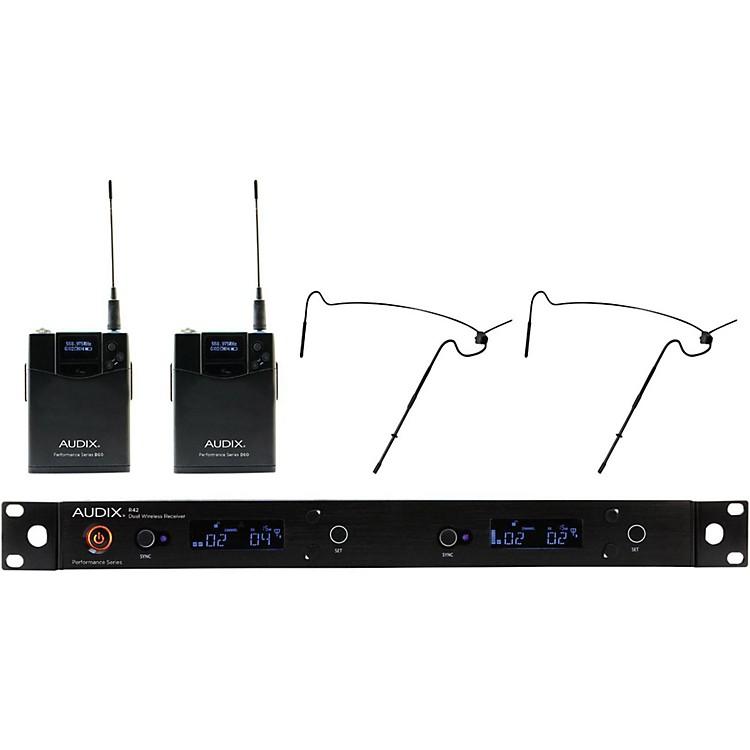 AudixAP42 HT5 Dual Headset Wireless System518-554 MHzBlack