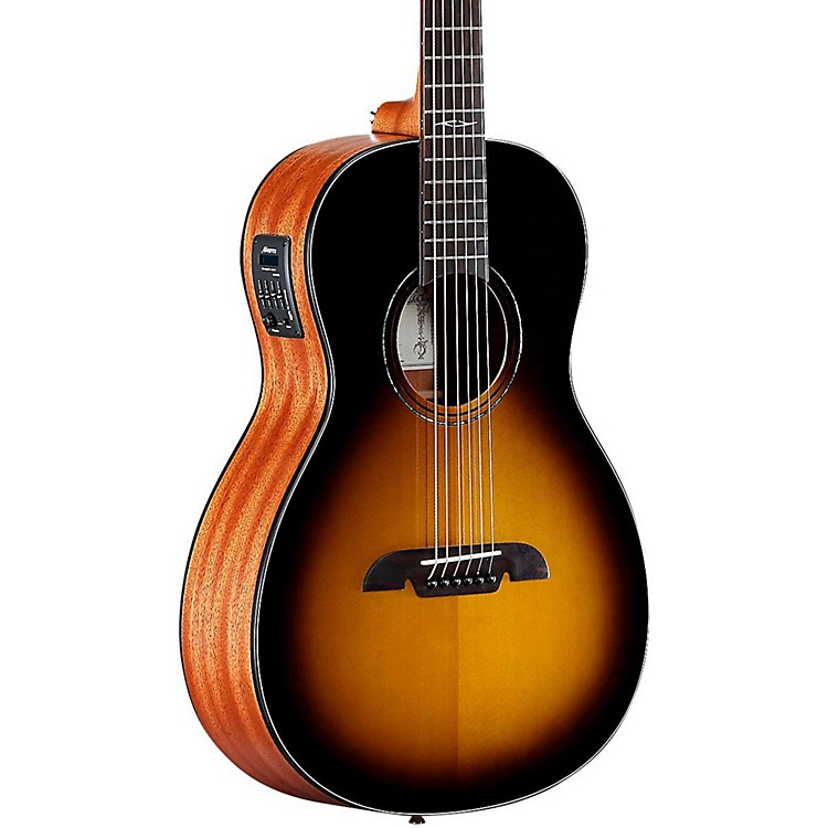 Alvarez AP610ETSB Parlor Acoustic-Electric Guitar Sunburst