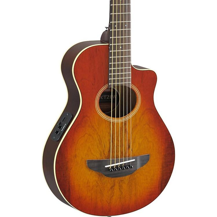 YamahaAPX Thinline 3/4 size Acoustic-Electic GuitarLight Amber Burst
