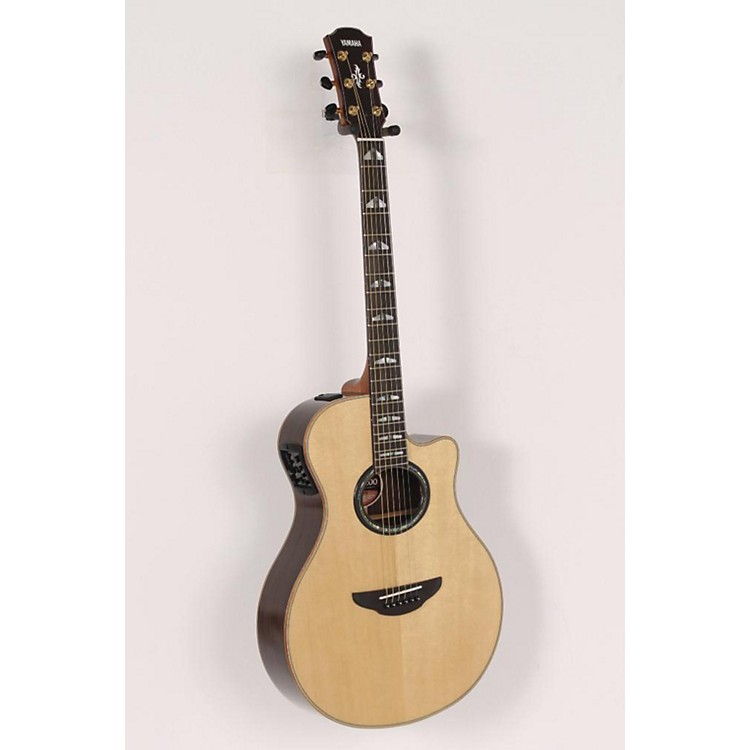 Yamaha APX1200 Thinline Cutaway Acoustic-Electric Guitar with SRT Preamp Natural 886830711701