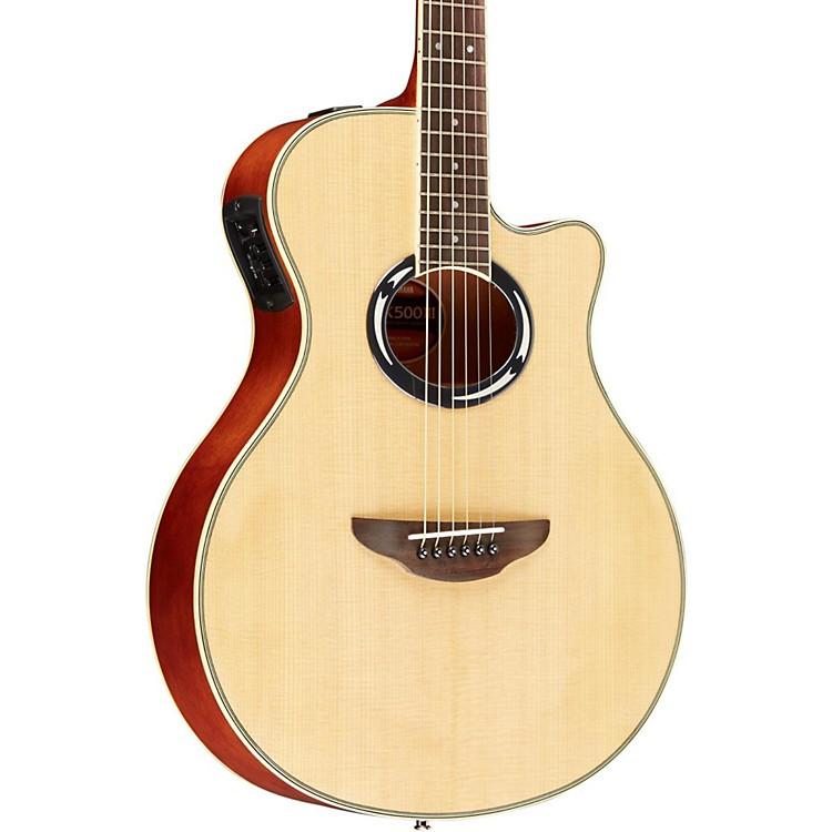 YamahaAPX500III Thinline Cutaway Acoustic-Electric GuitarNatural