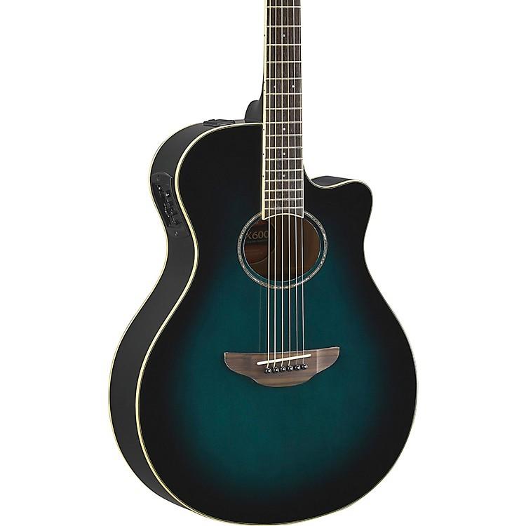 YamahaAPX600 Acoustic-Electric GuitarOriental Blue Burst