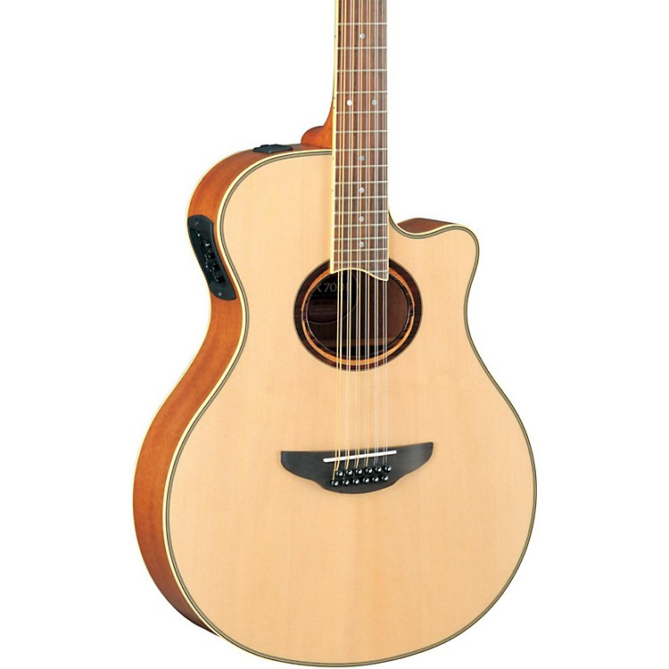 YamahaAPX700II-12 Thinline 12-String Cutaway Acoustic-Electric GuitarNatural