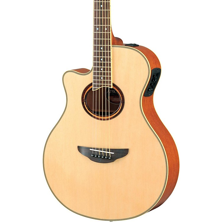 Yamaha APX700IIL Thinline Cutaway Left-Handed Acoustic-Electric Guitar