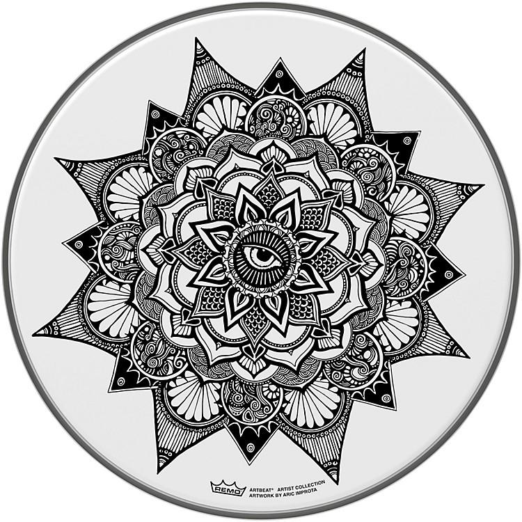 RemoARTBEAT Aric Improta Dilate Artist Collection Drum Head, 14