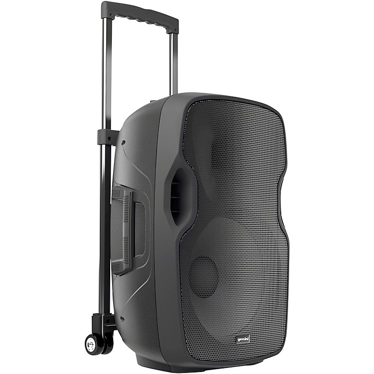 GeminiAS-12TOGO 12 in. Portable Wireless Bluetooth Loudspeaker