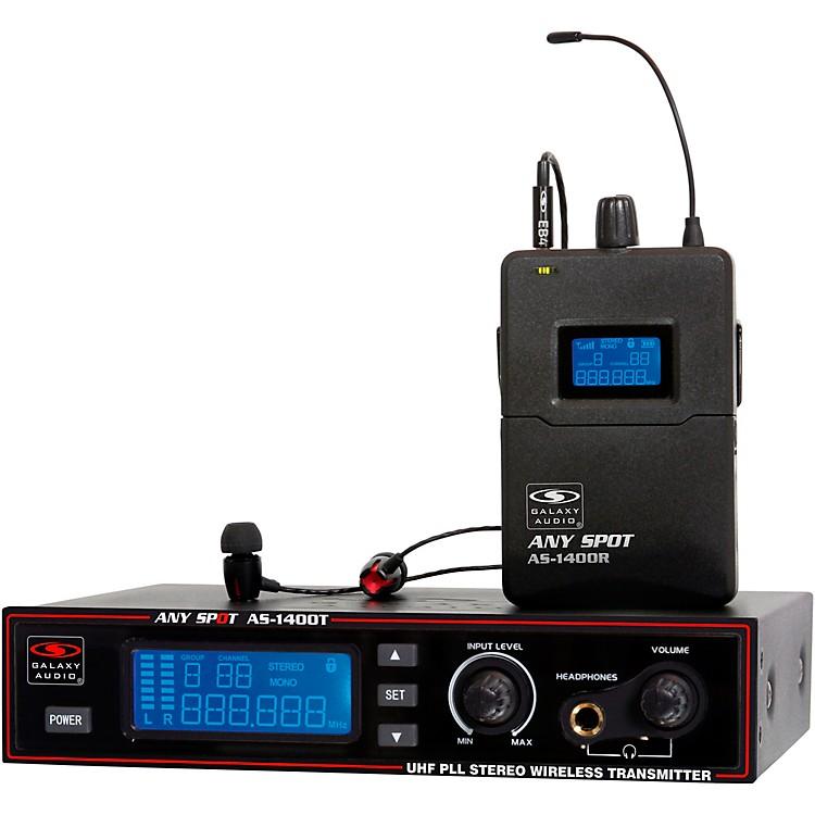 Galaxy AudioAS-1400 Wireless Personal Monitor SystemBand M