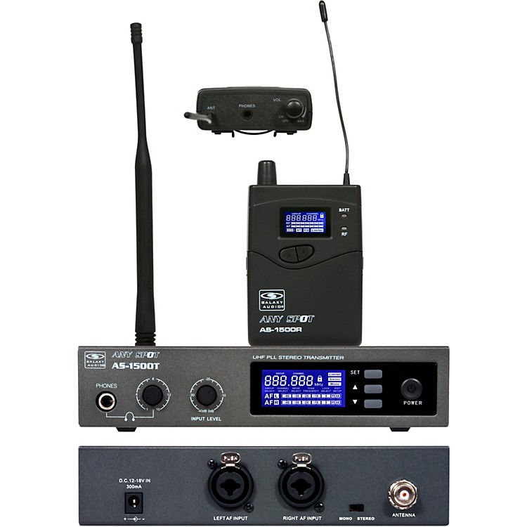 Galaxy Audio AS-1500 Personal Wireless System