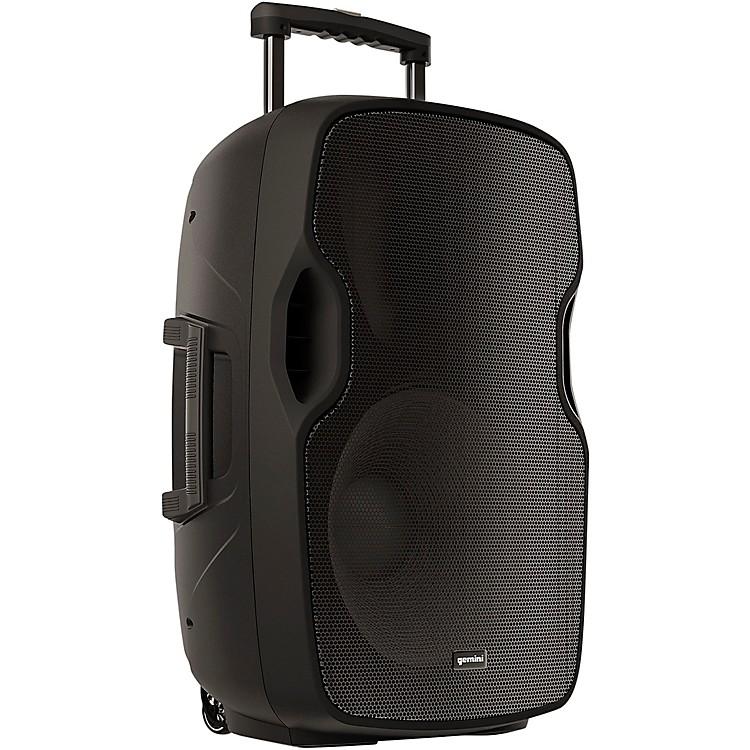GeminiAS-15TOGO 15 in. Portable Wireless Bluetooth PA Loudspeaker