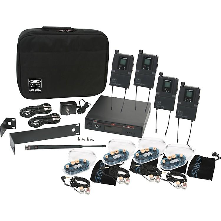 Galaxy AudioAS-1800 Any Spot Wireless Personal Monitor Band Pack w/EB6 earbudsFreq. Code B3