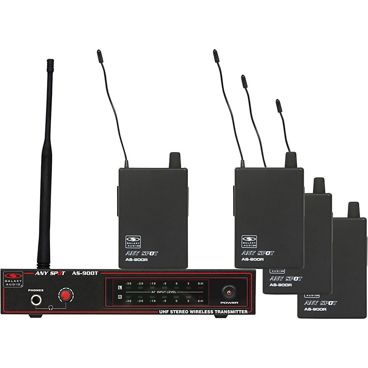 Galaxy Audio AS-900-4 Band Pack Wireless System Band K3