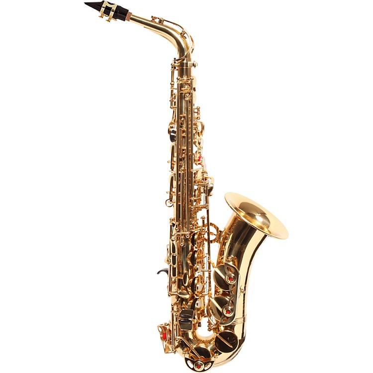 AmatiAS43 Intermediate Alto SaxophoneGold Lacquer