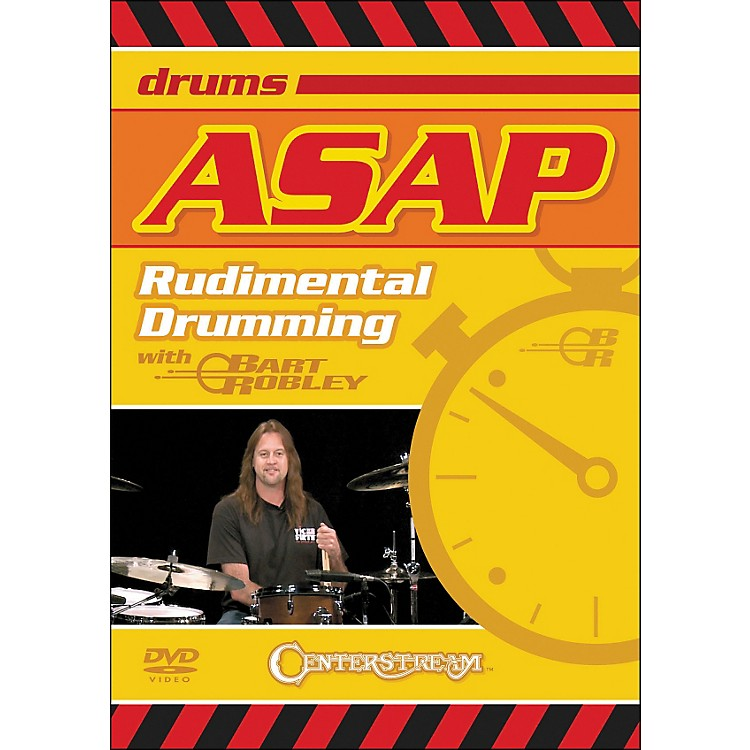 Centerstream PublishingASAP Rudimental Drumming DVD