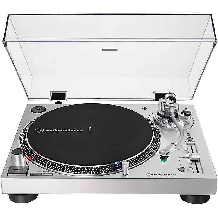 Audio-Technica AT-LP120XUSB Direct-Drive Professional Turntable (USB & Analog) Silver
