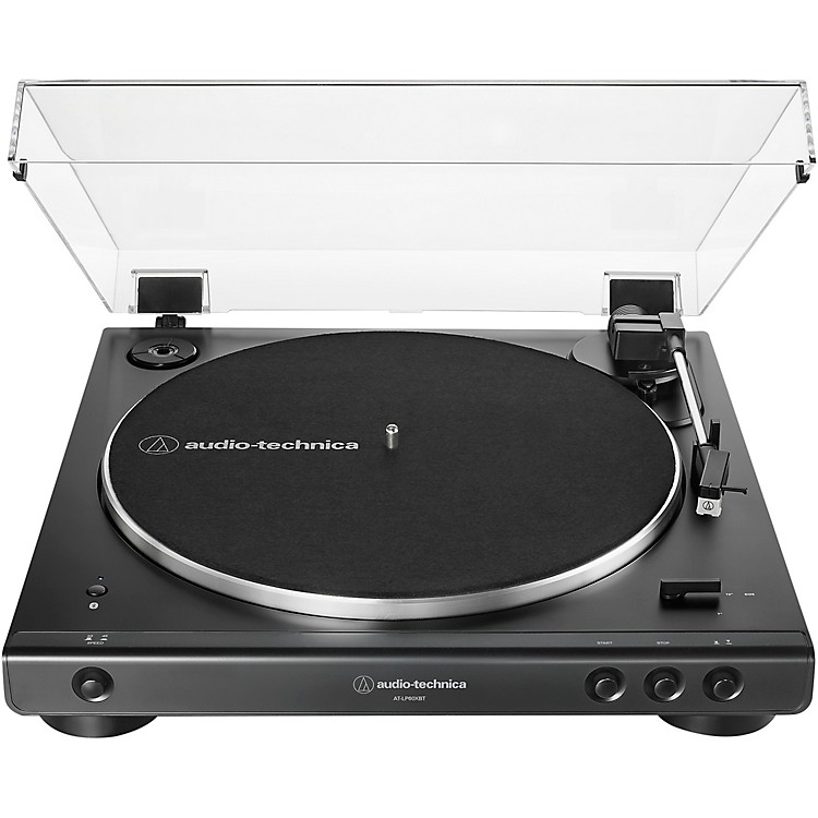 Audio-Technica AT-LP60XBT Fully Automatic Belt-Drive Stereo Turntable with Bluetooth Black