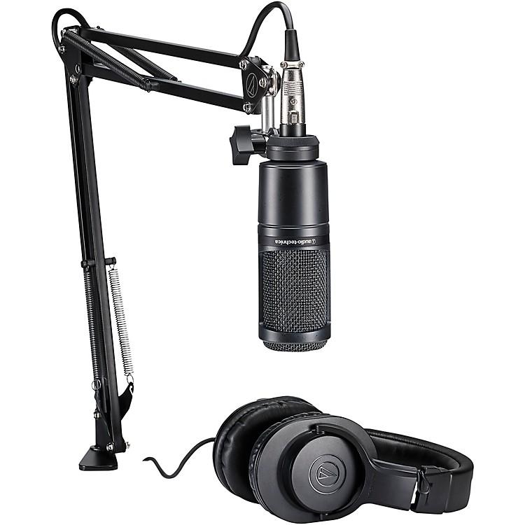 Audio-TechnicaAT2020PK Podcasting Studio Bundle