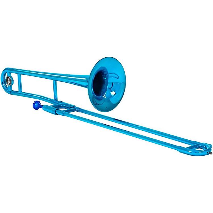 AlloraATB100M Aere Custom Series Plastic TromboneMetallic Blue