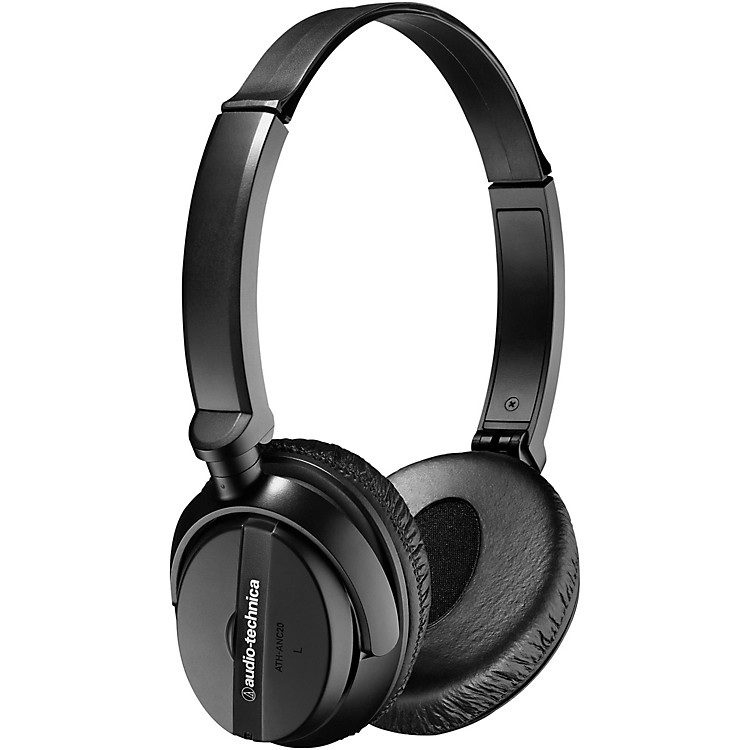Audio-TechnicaATH-ANC20 QuietPoint Active Noise-cancelling On-Ear Headphones