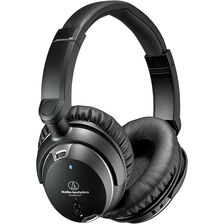 Audio-TechnicaATH-ANC9 Noise Cancelling Over Ear Headphones With Controls