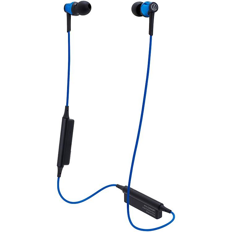 Audio-TechnicaATH-CKR35BT Sound Reality Wireless In-Ear HeadphonesBlue