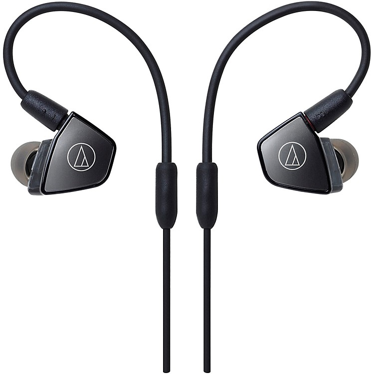Audio-TechnicaATH-LS300IS In-Ear Triple Armature Driver Headphones with In-line Mic & Control