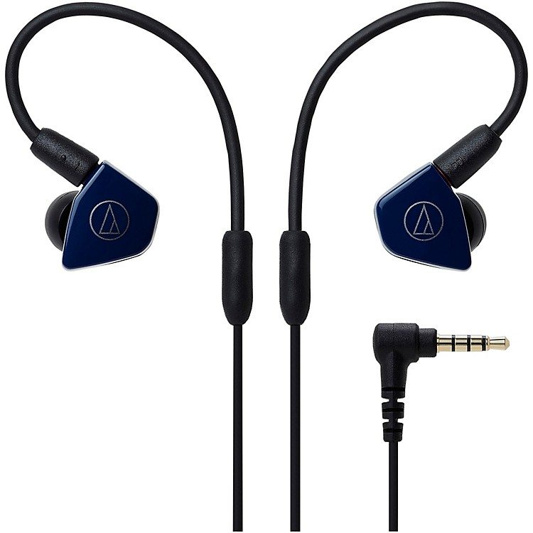 Audio-TechnicaATH-LS50IS In-Ear Headphones with In-line Mic & ControlNavy