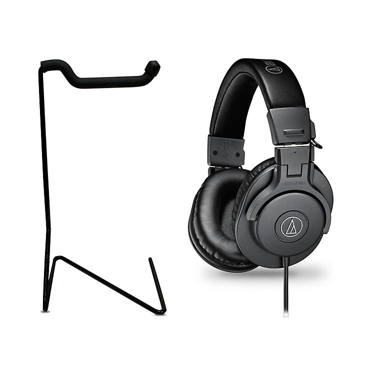 Audio-TechnicaATH-M30x Studio Monitor Headphones with Stand