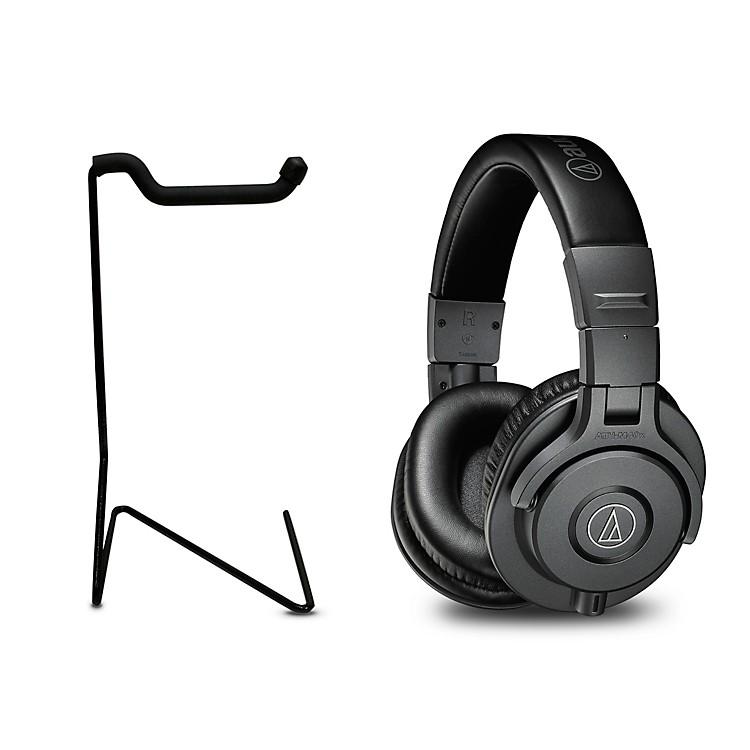 Audio-TechnicaATH-M40x Studio Monitor Headphones With Stand