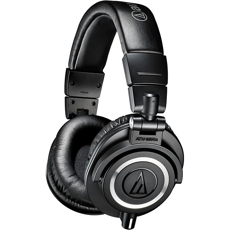 Audio-TechnicaATH-M50x Closed-Back Professional Studio Monitor HeadphonesBlack